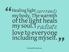Spiritual Affirmations for Healing | Affirmations for Health
