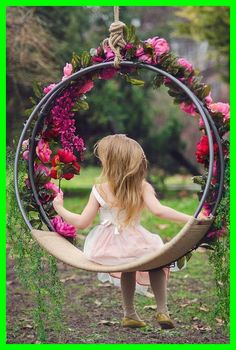 Hanging Hoop swing Hanging swing Images Prop Youngsters Swing CradleImages Stand Wreath Round Swing Hanging Cradle is part of Swing photography - Hanging Hoop Swing FOR CHILDREN and Wedding ceremony It may be utilized in two variants hanging o Backyard Swings, Backyard Landscaping, Backyard Ideas, Backyard Parties, Backyard Shade, Garden Ideas, Swing Photography, Children Photography, Wedding Photography