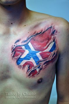 48 best flag tattoos images on pinterest american flag tattoos norsk flag tattoo by gettattoo publicscrutiny Image collections