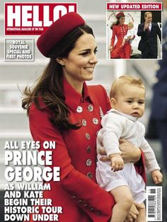 Hello! All eyes on Prince George