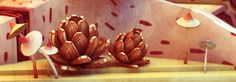 A little slice by The Rusted Pixel, via Behance