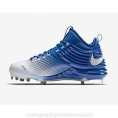 New NIKE LUNAR TROUT 2 METAL BASEBALL CLEATS 807127-410 ROYAL BLUE sz 10.5