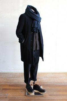 男人的冬季外套風格VOL.4的建議