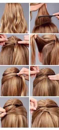 Easy And Cute Hairstyles For Lazy Girls