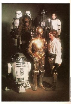 A gallery of Star Wars publicity stills and other photos. Featuring Mark Hamill, Harrison Ford, Carrie Fisher, Anthony Daniels and others. Star Wars Film, Star Wars Cast, Star Trek, Images Star Wars, Star Wars Pictures, All Star, Star War 3, Amour Star Wars, Anakin Vader
