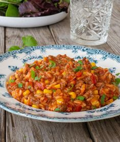 Amerikansk gryte - Hyggelig mat Tex Mex, Chana Masala, Casserole Dishes, Nom Nom, Curry, Food And Drink, Cooking Recipes, Dinner, Ethnic Recipes
