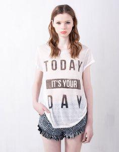 MI VIDA-TU VIDA: Camisetas con mensaje