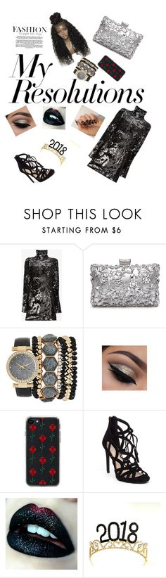"""""""Happy new year"""" by laurenj709 on Polyvore featuring Halpern, Jessica Carlyle, Zero Gravity, Jessica Simpson and WithChic"""