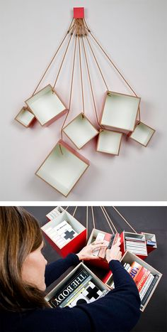 Flexible bookshelves a different solution for awkwardly sized book creative bookshelves despite the advent of e books many of us still value the tactile experience of flipping through a paper book fandeluxe Choice Image
