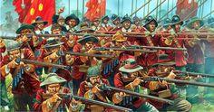 New Model Army - Warlord Games. Más en www.elgrancapitan.org/foro