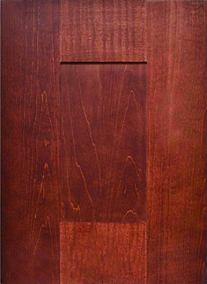 Aspen Flat Panel Door  Available Material: Standard Wood Species Color Shown: Brazilnut Stain on Maple Material Available in All Outside Profiles - Shown with Square Outside Profile Face Framing, Custom Cabinetry, Panel Doors, Wood Species, Cabinet Doors, Aspen, Color Show, Hardwood Floors, Profile