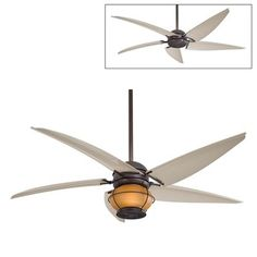 Minka Aire F579-L 60-in Magellan® Indoor/Outdoor Ceiling Fan with Light
