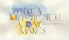 What a Difference by Cecelia Sharpely
