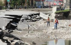 Updated: Road and bridge closures in Calgary due to flooding Calgary, Trail, Street View, Canada, Bridges, Gossip, Places, History, News