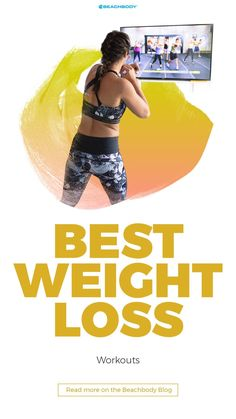 Sure, all exercise burns calories, but not all workouts burn fat while also building muscle. Learn what the best weight loss workouts are. Easy Weight Loss Tips, Need To Lose Weight, Diet Plans To Lose Weight, Weight Loss For Women, Fast Weight Loss, Fitness Tips For Women, Get In Shape, Fun Workouts, Beachbody Blog
