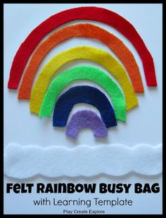 Felt Rainbow - Noahs Arc cont.