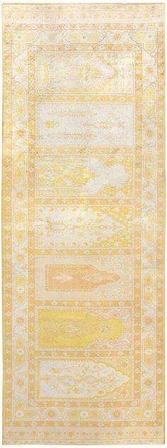 Antique Turkish Herekeh Silk Rug 48176 Main Image - By Nazmiyal