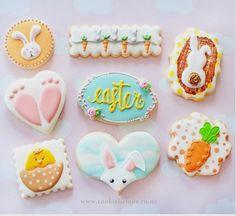 """Natalia Campbell on Instagram: """"Happy Easter ☺️💕hope everyone have been enjoying the long weekend 💗#happyeaster #eastercookies #decoratedcookies #sugarcookies #nzcookiedecorator #cookieliciousnz"""""""