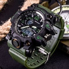 Men's Watches, G Shock Watches, Cool Watches, Watches For Men, Wrist Watches, Jewelry Watches, Digital Sports Watch, Digital Wrist Watch, Bracelet Couple
