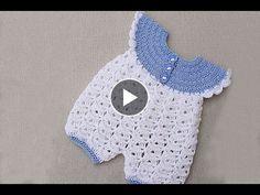 Baby rompers crochet very easy . Majovel crochet Baby rompers crochet very easy . Majovel crochet,Crochet – Babies and kids Baby rompers crochet very easy . Majovel crochet Related posts:Crochet Pattern - No-Sew Cotton. Crochet Baby Pants, Crochet Romper, Crochet Toddler, Baby Girl Crochet, Crochet For Boys, Diy Crochet, Crochet Stitch, Baby Romper Pattern, Baby Girl Dress Patterns