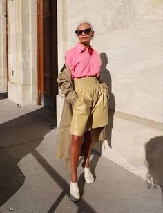 The Anti-Neutral Color Trend That Will Rule 2021 Working Girl, Dress Up, Normcore, Take That, Trending Outfits, Blazer, Shorts, Casual, Happy Hour