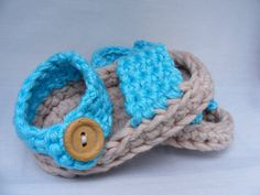 Baby Booties Crochet Pattern  Spring / Summer by TheHappyCrocheter, £3.19