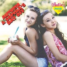 Autumn miller hanging out with her friend