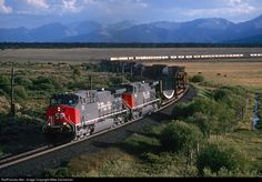 RailPictures.Net Photo: SP 211 Southern Pacific Railroad GE AC4400CW at Keeldar, Colorado by Mike Danneman
