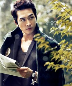 Song Seung-heon up for rom-com opposite Uhm Jung-hwa #SSH #2015