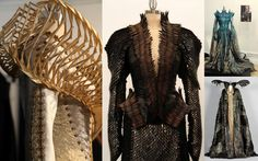 Colleen Atwood's amazing costumes for Snow White & the Huntsman.  See the exclusive interview at http://www.courtesanmacabre.com