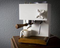 Anza Coffee Machine corian béton pour des café bruts !