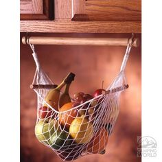 Under Cabinet Fruit & Veggie Hammock