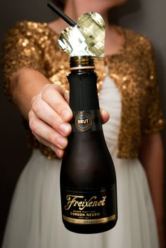 Want to win 125 mini bottles of Freixenet bubbly and a memory magnum for your wedding day? Enter the Freixenet All Love Sparkles Sweepstakes Facebook contest for a chance to win one of 6 prize packs. One lucky winner will be selected each week starting March 24th, 2014. Good luck!