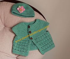 DewDrop's Designs: Baby set pattern