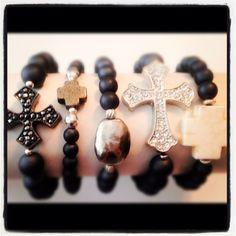 #Arm Candy #Fall #Fitrou #Bracelets #Jewelry #Crosses