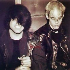 Glen and Erie 1985 Samhain - There are a few pics of GD from Samhain days where he is almost unrecognizable. New Wave Music, Music Love, Good Music, Danzig Misfits, Glenn Danzig, Famous Monsters, Band Logos, Alternative Music, Psychobilly