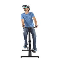 Virzoom Virtual Reality Game System with Folding VR Bike Controller and VirZOOM Arcade Games, Size: One size, Black Vr Games, Arcade Games, Unity Software, Bikes Games, Virtual Reality Games, Christmas Gifts For Boys, Attack Helicopter, Game Controller, Tv Videos