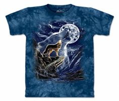 spirit wolf the mountain tee