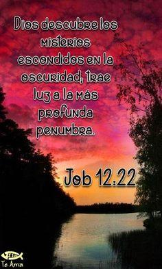 Job 12:22 facebook.com/jesusteamamgaministries