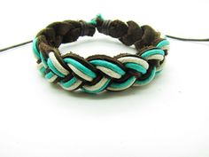 fashion Adjustable leather Cotton Rope Woven by sevenvsxiao, $3.00