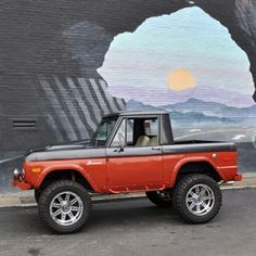 Ford Bronco - Made from 1966 to 1977.  It was the most best 4x4 ever built by an company on this planet.  It would go anywhere.  I remember the 1977 Ford Bronco my father had and the place we went.  We went places the Chevy Blazer couldn't and the hill climbs we did and the International Scouts just couldn't climb.  I would love to own one.