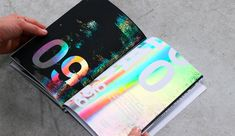 Holography Campaign Editorial Design by Daniel Barkle - Inspiration Grid Design Inspiration Inspiration Art, Packaging Design Inspiration, Graphic Design Inspiration, Design Packaging, Print Layout, Layout Design, Design Design, Magazine Design, Editorial Design