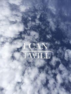 I CAN/ I WILL -- shutterbean