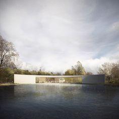 视觉艺术家Forbes Massie创作的CG建筑渲染作品 - 灵感日报