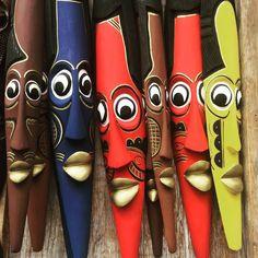 Beautiful african art pieces, found at the Kenyan Market