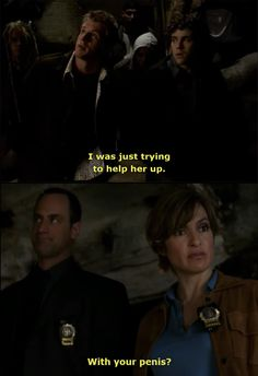 Law and Order: SVU... Im sorry, but this is the most hilarious thing ever.