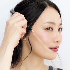 """No longer magic! Nakano Akemi& """"lift up"""" makeup- もはや魔法!中野明海の「リフトアップ」メイク 五選 No longer magic! Nakano Akemi& """"Lift Up"""" Make 5 Selections Makeup Tips, Beauty Makeup, Hair Makeup, Hair Beauty, Eyeliner Tape, Korean Eye Makeup, Summer Makeup Looks, Asian Eyes, Eye Make Up"""