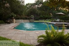 Who says you can't have an amazing garden AND an amazing pool in the same backyard? #StewartLandDesigns