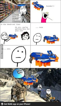 Buying Nerf. Hail-Fire. its awesome, but it uses so much bullets!