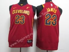 a18402543931 Cleveland Cavaliers Red  23 NBA Jersey